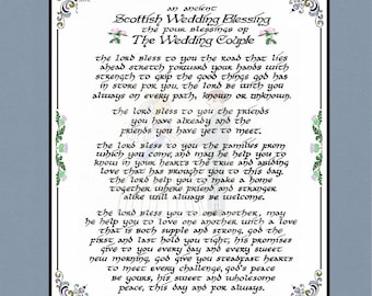 An Ancient Scottish Wedding Blessing