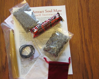 Find Your True Soul Mate Complete Ritual Kit