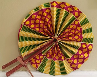 Ghanaian Fan (Authentic)