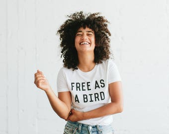 Free As A Bird t-shirt, by The Bee & The Fox