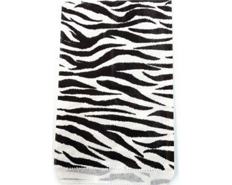 Merchandise 300pcs - 5x7 Zebra animale stampa carta sacchetti