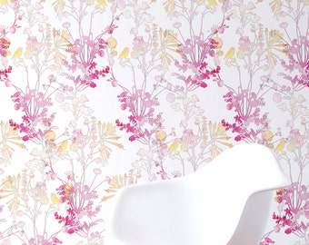 Day Bloomer Self-adhesive Wallpaper Panel