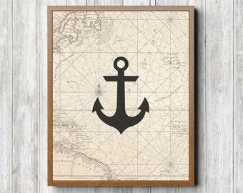 Anchor 8 x 10 Printable