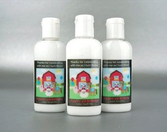 Personalized. Barnyard. 1oz Lotion or Sanitizer