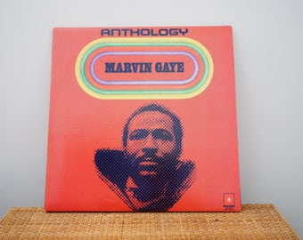 vintage MARVIN GAY ~ Anthology 70's vinyl record // Motown Records // 60's soul 70's funk