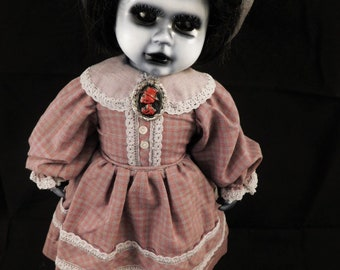 "Anamcha 14"" OOAK Porcelain Horror Doll"