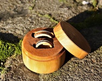 Custom double ring box
