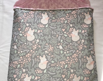 Bunting cozy rabbit pattern.