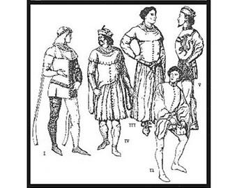 Men's Cotehardies #23