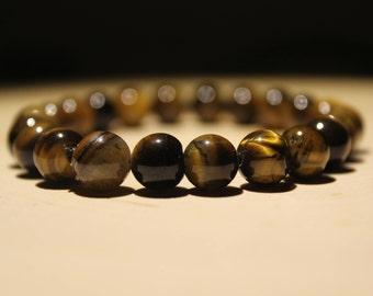 8mm Brown Seed Bracelet #2/Boho Bracelet
