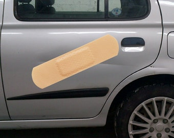 Band-Aid Car Sticker