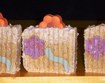 Oatmeal Honey Handmade Artisan Soap