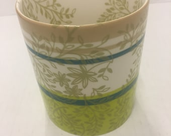 2008 Starbucks flower mug