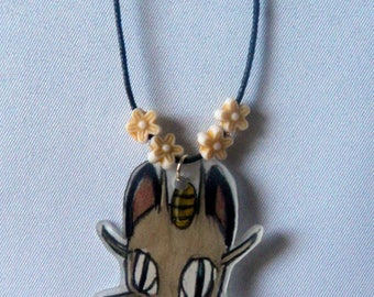 "Necklace ""Pokecat"" - Meowth - Pokemon"