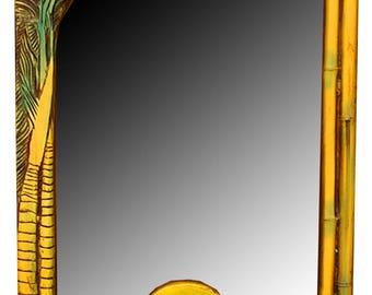 Tropical Decor Wall Mirror