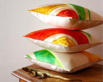 Small Japanese  Pillow | Throw Pillow | Modern Pillow | Japanese Decor | Japanese Art |