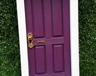 Opening Fairy Door - Purple