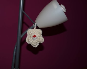 HAND CROCHETED ORNAMENT