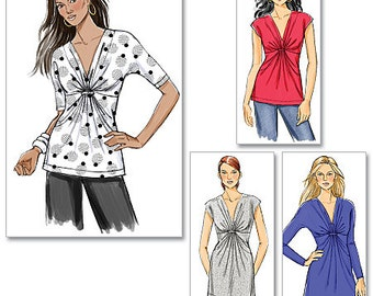 OUT of PRINT Butterick Pattern B5495 Misses' Top