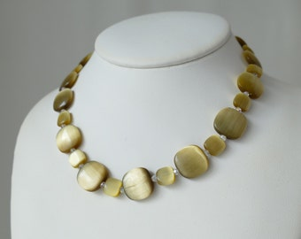 Robert Tateossian fiber optic glass Choker necklace