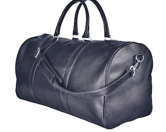 Weekender Bag - Black & Silver