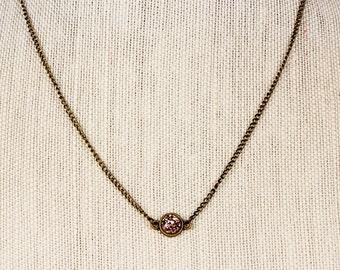 Small Round Druzy Necklace, Rose Gold Druzy, Druzy Jewelry, Druzy Earrings, Druzy Ring, Druzy, 3 Piece, Gift Set, Sale