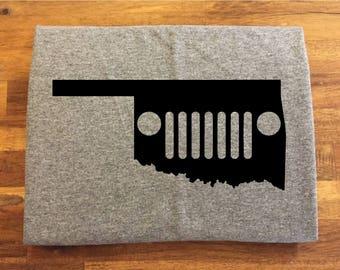 Oklahoma Jeep Shirt