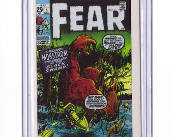 Marvel #1 FEAR Comic Card from 1984 FTCC