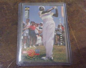 1994 Upper Deck Michael Jordan Golf Card #204