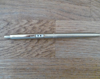 Paper Mate pen 1960s rare gold plated