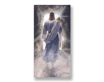 "Jesus Christ Art Print ""The First"" by Artist Jared Barnes"