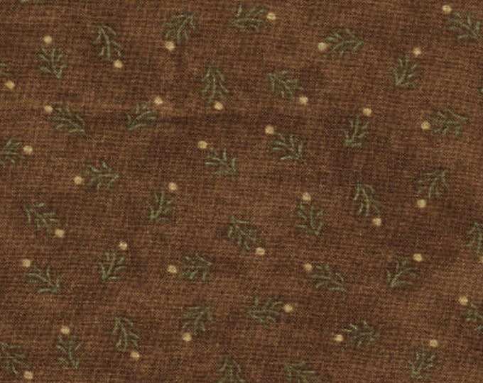 "Birchwood Lane by Holly Taylor for Moda 11042 15 Brown 90"" x  108"" Backing Fabric - Seamless"