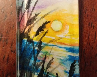 Watercolor Sunset