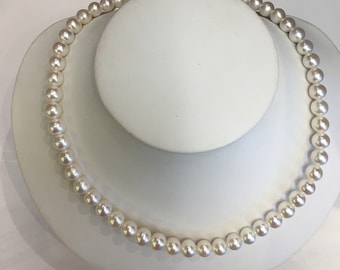 """7mm Cultured Freshwater Pearls  17"""""""