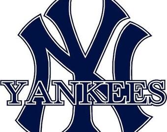 yankees decal etsy new york yankees font new york yankees font dafont