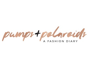 Rose Gold Logo | Custom Logo design | Minimal Premade Branding Kit | Fashion | Header | Blog