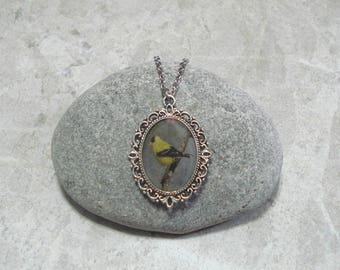 Goldfinch Necklace Pendant Jewelry