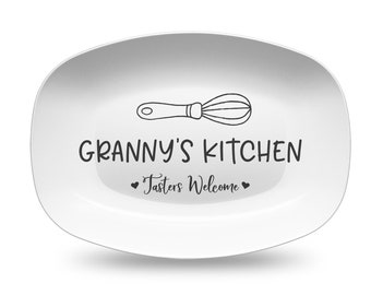 Mother's Day Southern Mama's Kitchen Wisk Personalized Platter gift for mom gift for grandmother gift for her gift kitchen decor
