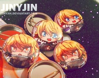 Youjo Senki Tanya button set (2)