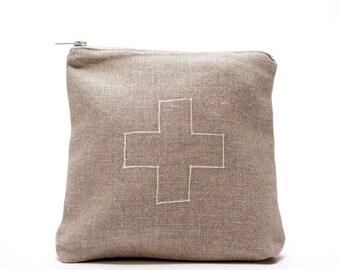 linen ditty bag