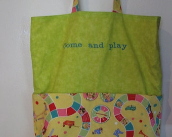 Dick and Jane Eco Friendly Tote Bag