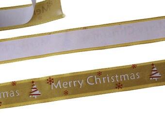 2 m of tape adhesive Washi pattern Merry Christmas 15mm - SC70942-scrapbooking