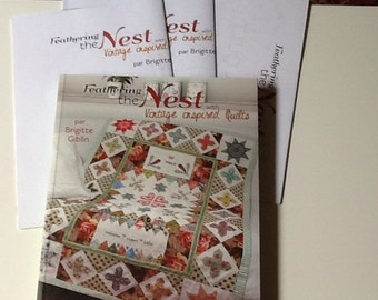 Feathering the Nest with Vintage Inspired Quilts by Brigitte Giblin