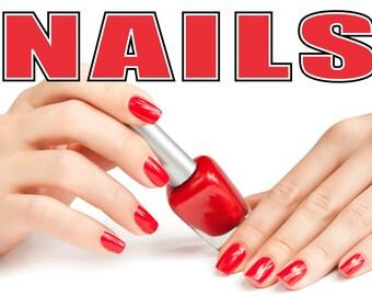Beauty Salon Spa Poster - 4 Size Options - Nails/Manicure/Make-up/Massage/Tanning (9)
