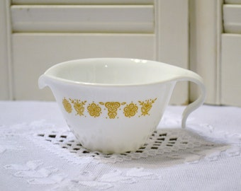 Vintage Corelle Creamer Butterfly Gold Pattern Replacement Corning PanchosPorch