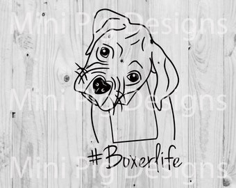 Boxer Life SVG