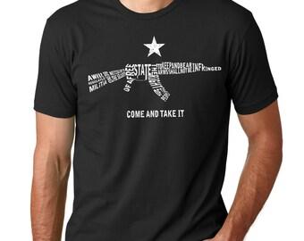 Second Amendment Ak-47 Shirt. 2nd Amendment.