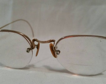 Antique gold filled bifocals