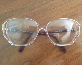 Silhouette 1980's Vintage Eyeglasses
