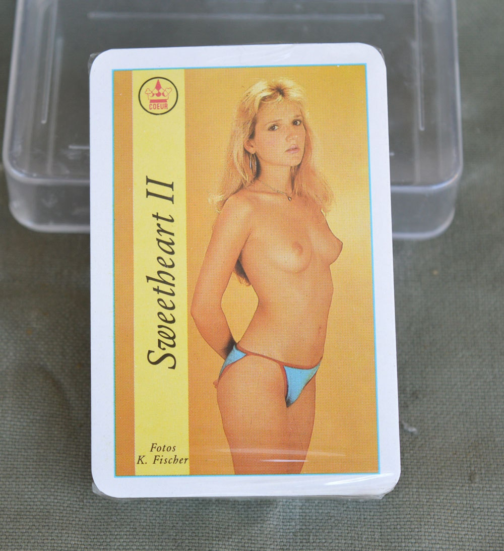 Vintage playing cards naked playing cards sweetheart ii blonde zoom kristyandbryce Images